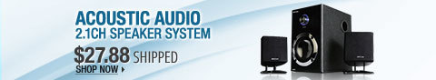 Newegg Flash – Acoustic audio 2.1ch speaker system