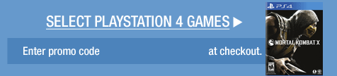 SELECT PLAYSTATION 4 GAMES >