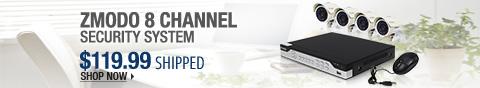 Newegg Flash – Zmodo 8 Channel Security System
