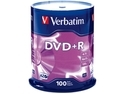 Verbatim 4.7GB 16X DVD+R 100 Packs Spindle Disc Model 95098