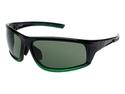 Puma PU14703P Men's Polarized Sports Sunglasses - Black/Green