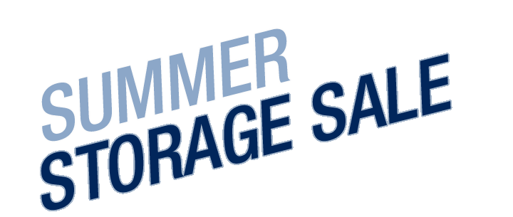 SUMMER STORAGE SALE