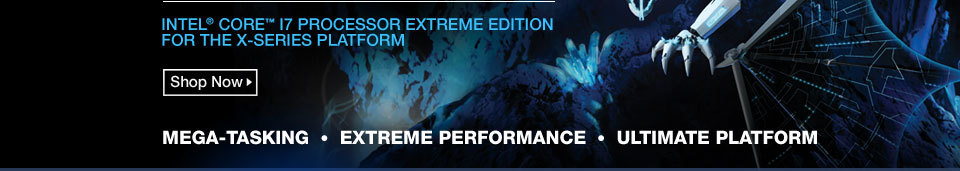 Intel Core i7 processor Extreme Edition For The X-Series Platform