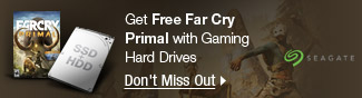 Seagate - Get Free Far Cry Primal with Gaming Hard Drives