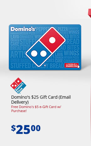 Domino's $25 Gift Card (Email Delivery)