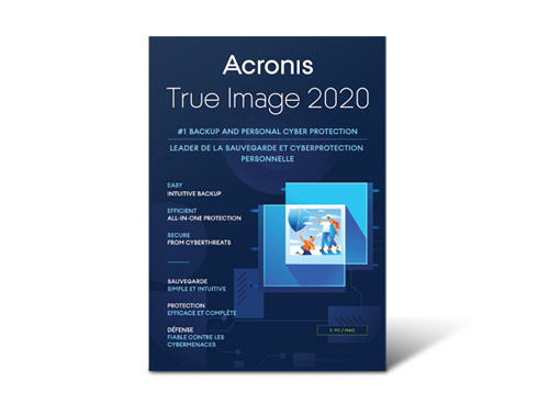Deals on Acronis True Image 2020 3 PC/MAC