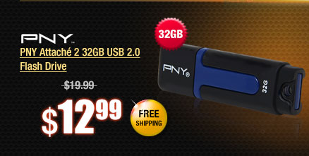 PNY Attach� 2 32GB USB 2.0 Flash Drive