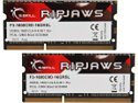 G.SKILL Ripjaws Series 16GB (2 x 8G) 204-Pin DDR3 SO-DIMM DDR3 1600 (PC3 12800) Laptop Memory