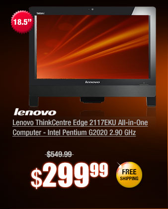 Lenovo ThinkCentre Edge 2117EKU All-in-One Computer - Intel Pentium G2020 2.90 GHz