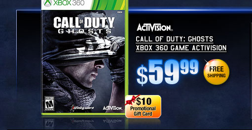 Call of Duty: Ghosts Xbox 360 Game Activision