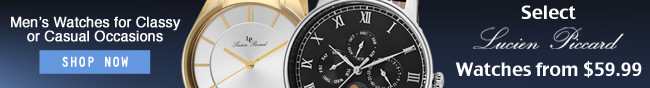 Men's watches for classy or casual occasions.