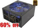 Rosewill Xtreme Series 850W Continuous @40°C ,80 PLUS Certified, Power Supply
