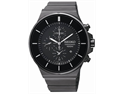 Seiko SNDD83 Chronograph Stainless Steel Case and Bracelet Black Dial Date Display