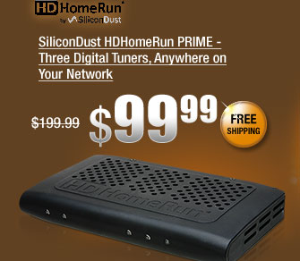 SiliconDust HDHomeRun PRIME - Three Digital Tuners, Anywhere on Your Network
