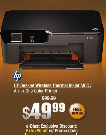 HP Deskjet Wireless Thermal Inkjet MFC / All-In-One Color Printer