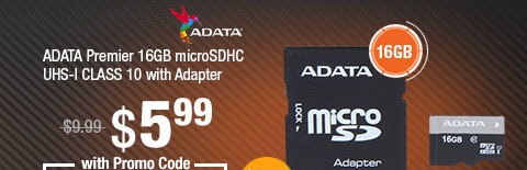 ADATA Premier 16GB microSDHC UHS-I CLASS 10 with Adapter