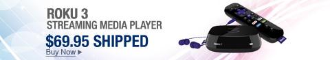 Newegg Flash � Roku 3 Streaming Media Player