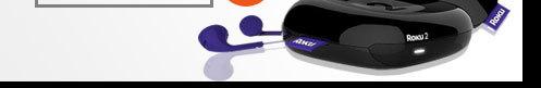 Refurbished: Roku 2720X-B Streaming Player Black