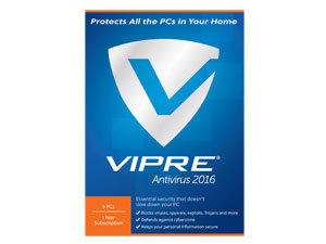 ThreatTrack Security Vipre AntiVirus 2016 5PC 1 Year - Download