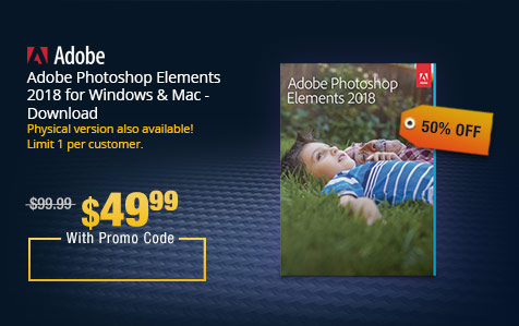 Adobe Photoshop Elements 2018 for Windows & Mac - Download