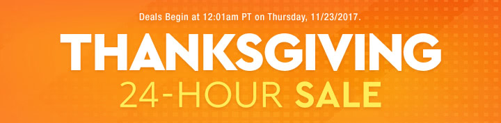 Thanksgiving 24-Hour Sale