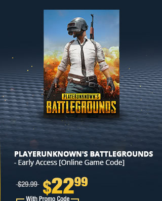 PLAYERUNKNOWN'S BATTLEGROUNDS - Early Access [Online Game Code]