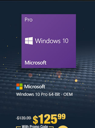 Windows 10 Pro 64-Bit - OEM