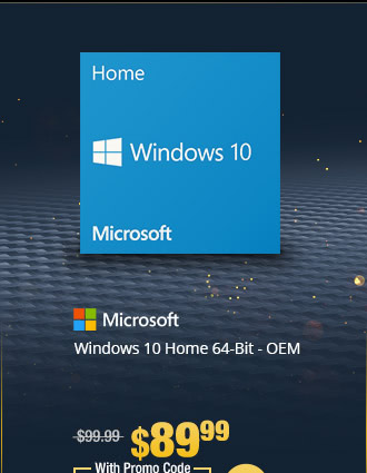 Windows 10 Home 64-Bit - OEM