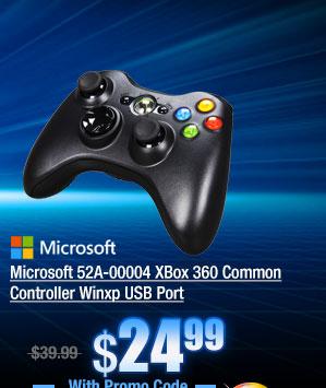 Microsoft 52A-00004 XBox 360 Common Controller Winxp USB Port