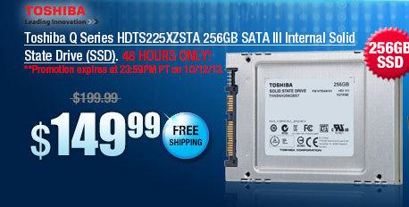 Toshiba Q Series HDTS225XZSTA 256GB SATA III Internal Solid State Drive (SSD)
