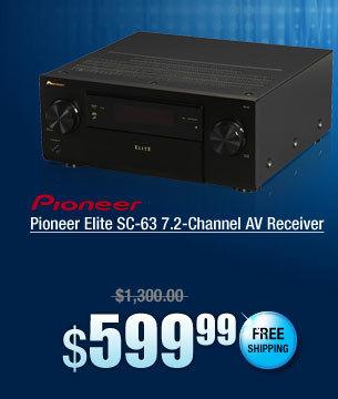 Pioneer Elite SC-63 7.2-Channel AV Receiver
