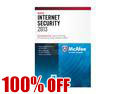 McAfee Internet Security 2013 - 1 PC