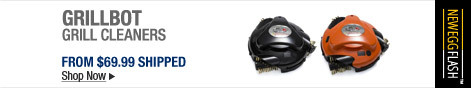 Newegg Flash � Grillbot Grill Cleaners