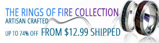 NF - The Rings of fire collection. artisan crafted. Up to 74% off from $12.99 Shipped.