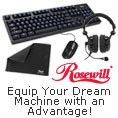 Rosewill - Equip Your Dream Machine with an Advantage!