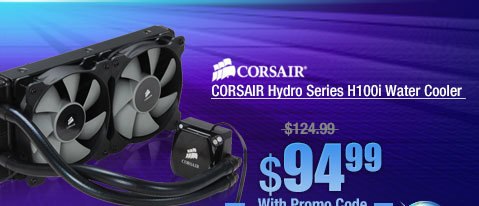 CORSAIR Hydro Series H100i Water Cooler