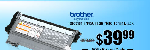 brother TN450 High Yield Toner Black