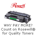WHY PAY MORE? Count on Rosewill for Quality Toners.