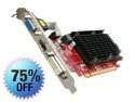 PowerColor Go! Green AX5450 1GBK3-SH Radeon HD 5450 (Cedar) 1GB DDR3 HDCP Ready Low Profile Ready Video Card