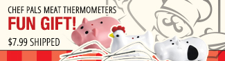Chef Pals Meat Thermometers FUN GIFT!. $7.99 Shipped.