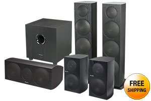 Pioneer SP-BS41-LR 2 CH Bookshelf Loudspeakers Pair