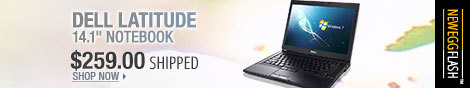 Newegg Flash - Dell Latitude 14.1 inch notebook