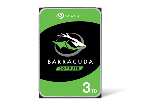 Seagate BarraCuda 3TB 7200 RPM 64MB Cache SATA 6.0Gb/s 3.5 Bare Hard Drive