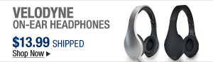 Newegg Flash - Velodyne On-ear Headphones
