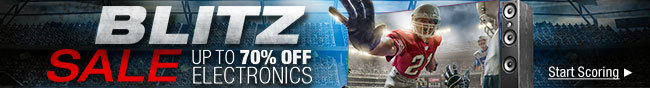 Blitz Sale Up to 70% Off Electronics