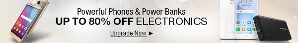Powerful Phones & Power Banks