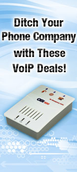 Ditch Your Phone Company with These VoIP Deals!