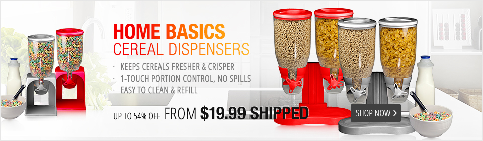 Home Basics Cereal Dispensers