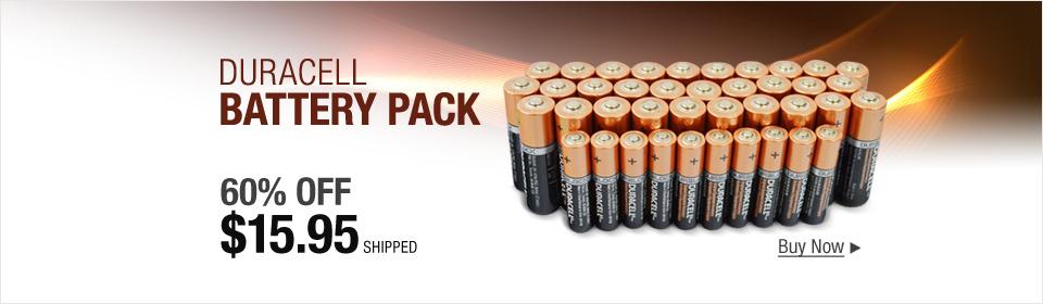 Duracell 30 AA + 10 AAA Copper Top Alkaline Long Lasting Batteries 2021/2022