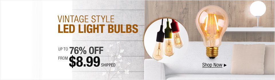 Vintage LED Light Bulbs